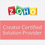 Zoho-Creator-Certifified-Solution-Provider Zoho Creator